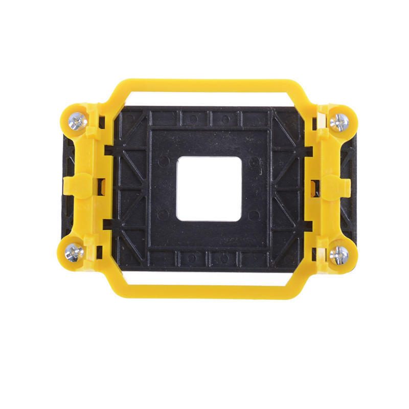 AM2//AM3//AM3+//FM1 Heatsink Retention Module Bracket Yellow