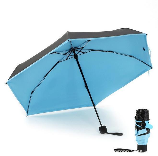 Mini Pocket Umbrella Sunny Folding Kleine Sonnenschirm Isolation Regenschirm