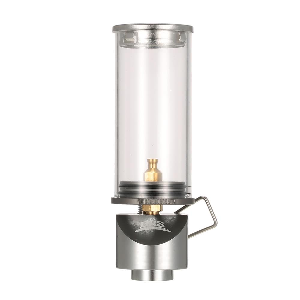 BRS Mini Portable Hanging Candle Lamp Outdoor Windproof Gas Candle Lights Camping Gas Lighting