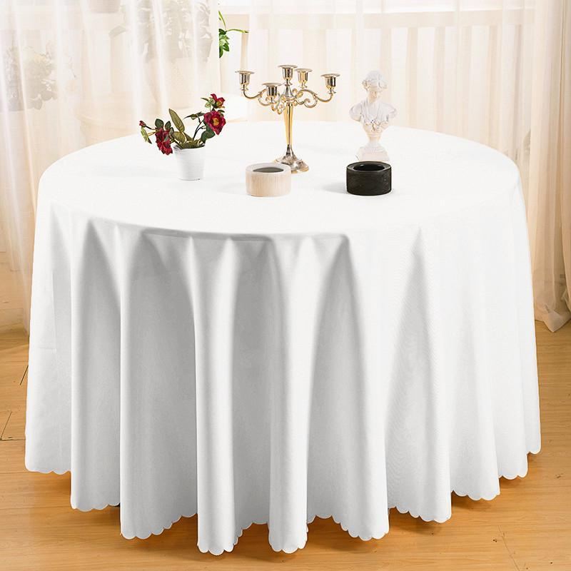 Tablecloth Cover Catering Events Wedding Party Polyester Tableware Table Cloth