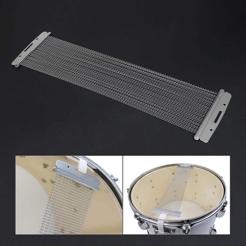 ammoon Steel Snare Wire 30 Strand Drum Spring for 14 Inch Snare Drum Cajon Box Drum