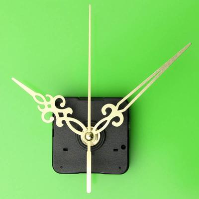 Gold Hands DIY Wall Quartz Clock Movement Mechanism Replacement Parts Kit
