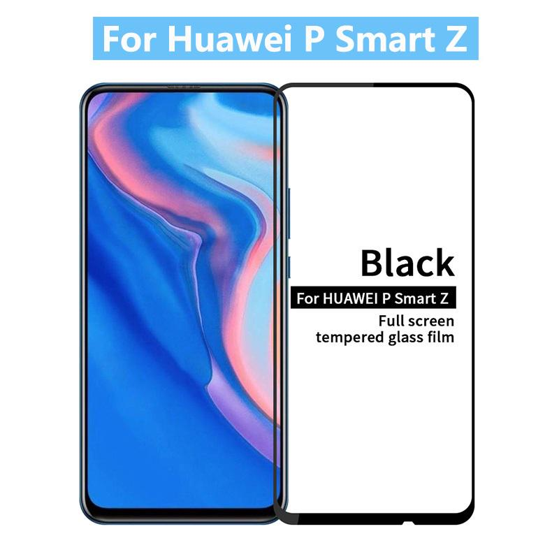 9H полный Обложка закаленное стекло для Huawei P Smart Z экран протектор фото