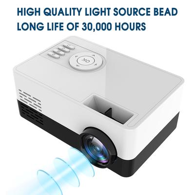 Mini tragbar 3D HD Smart DLP Taschen Projektor HDMI USB Heimkino Media Player
