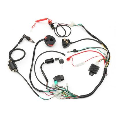 USSTOCK Wiring Harness Loom For Chinese Electric Start Quads 50cc 70cc 90cc 110c