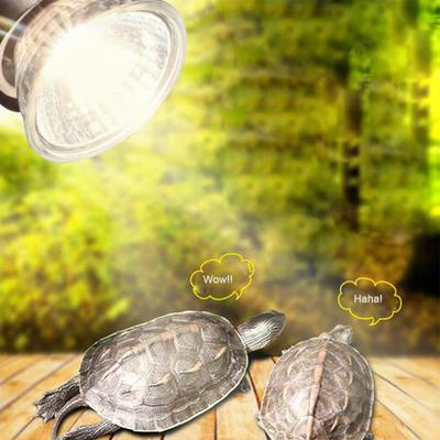 UVB 3.0 Reptile Lamp Bulb Turtle Basking UV Light Bulbs Heating Lamp Amphibians Lizards Temperature