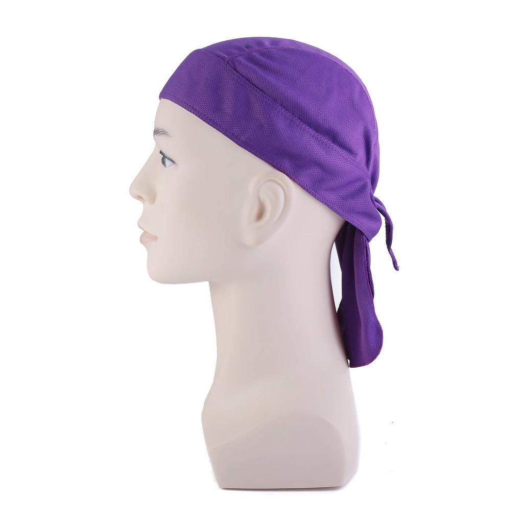 Multifunctional Headwear Leaf Skull Bone Skull Head Wrap Elastic Turban Sport Headband Outdoor Sweatband