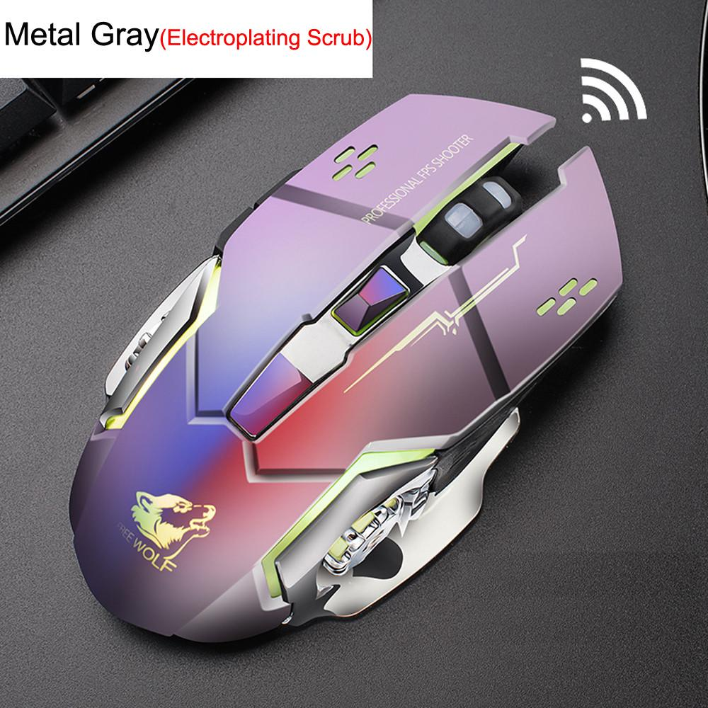 Fashion Rechargeable X8 Wireless Silent Led Backlit Usb Optical Ergonomic Gaming Mouse Buy At A Low Prices On Joom E Commerce Platform