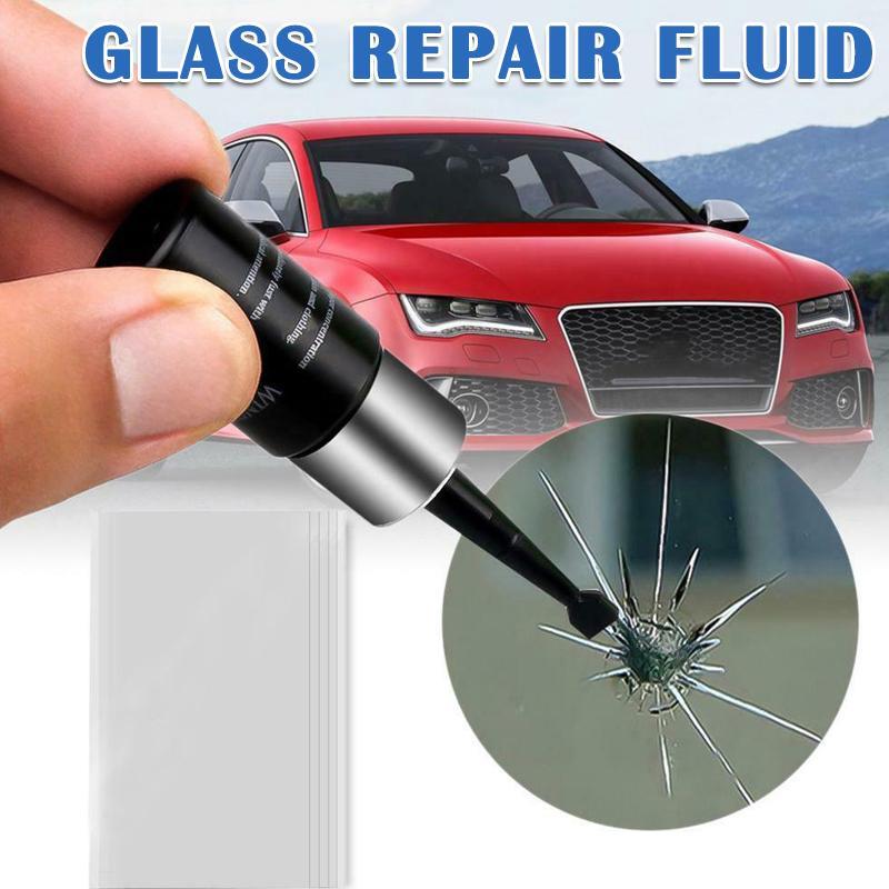 Средство для ремонта поврежденного автомобильного стекла фото