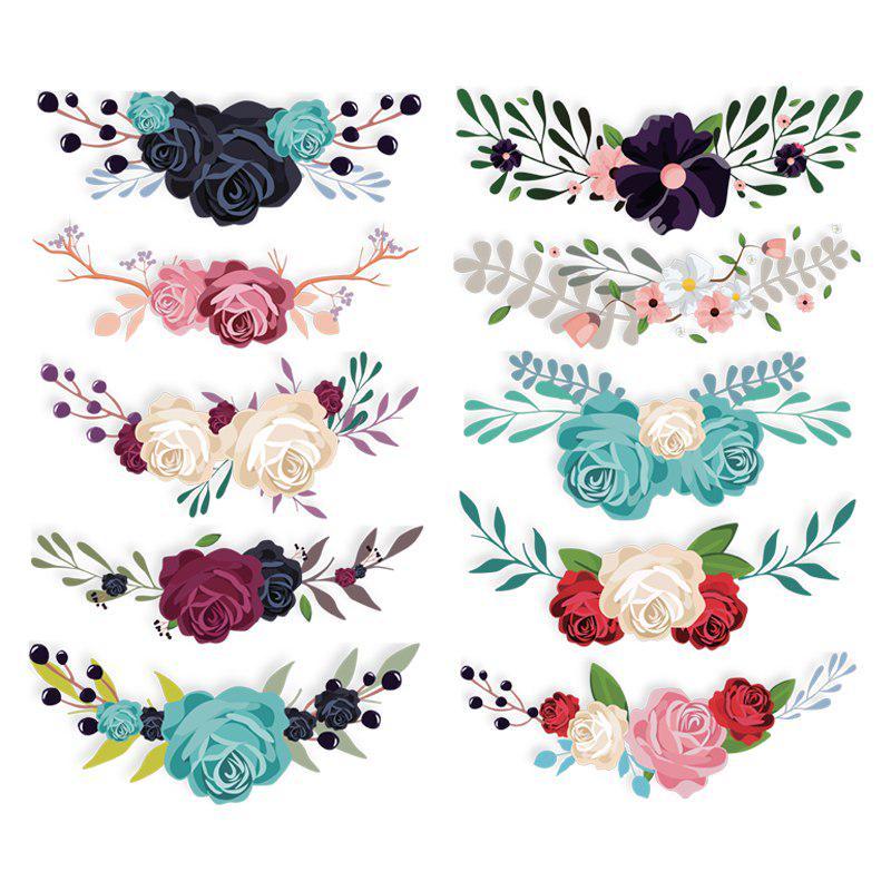 Элегантные цветы дизайн патчи для футболку аппликацией декор одежды наклейки DIY Handmade выдавались