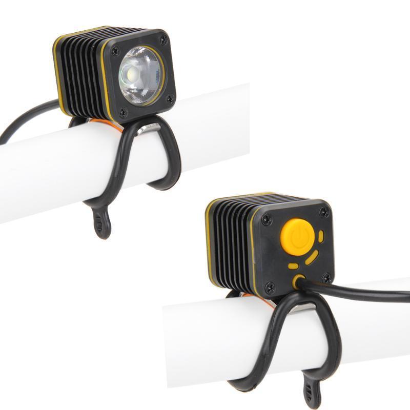 Mini USB Square XM-L T6 4 Modes LED Front Bike Bicycle Light Headlight with PUSH
