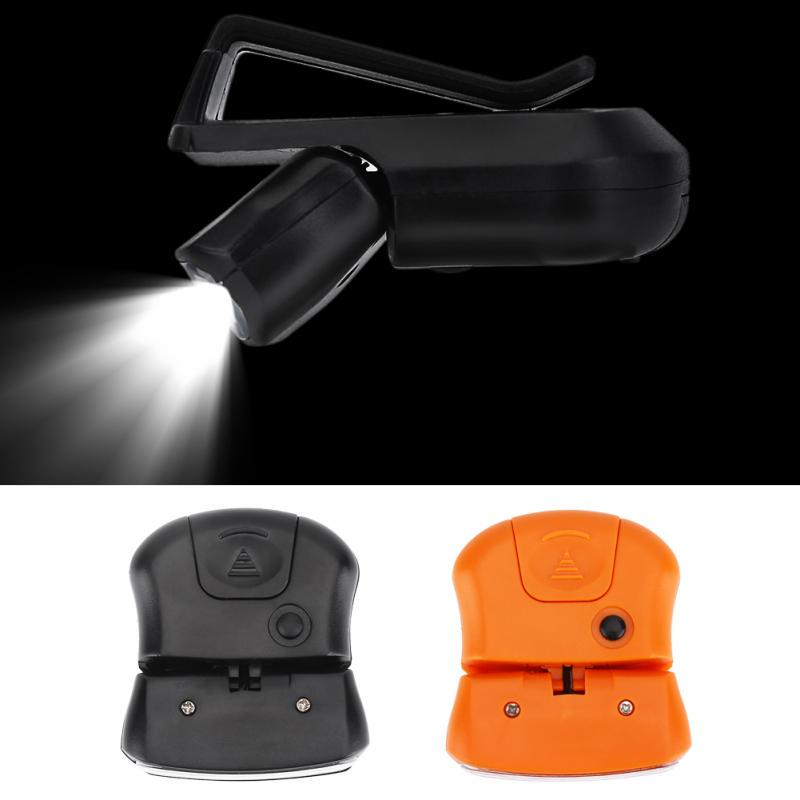 11LED Fishing Camping Head Light HeadLamp Cap With Clip for Outdoor Activities