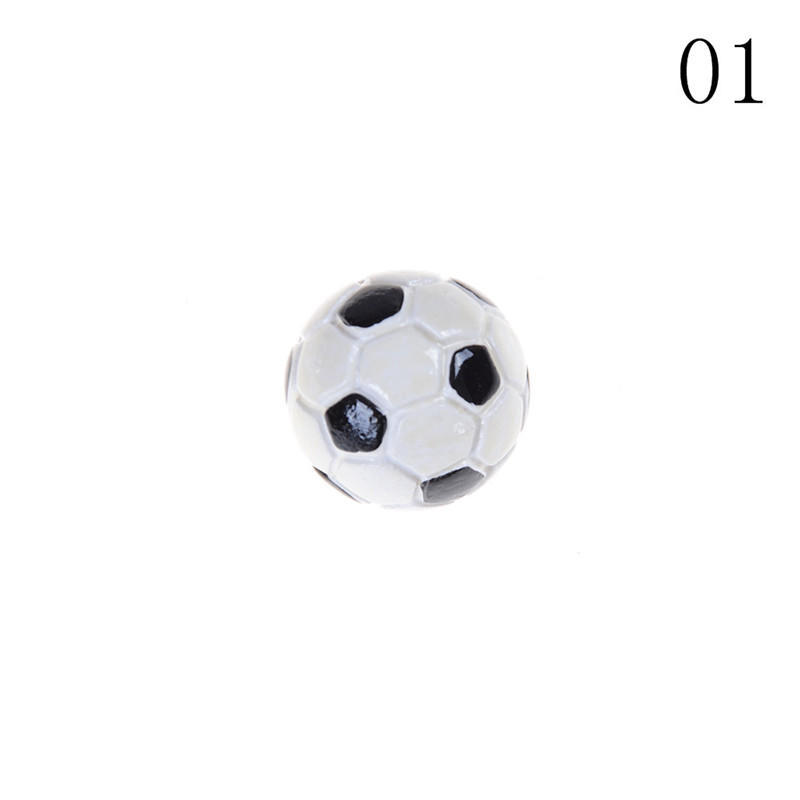 Doll House Miniature Soccer Football 1:12 Toy Sports Ball Game Accessories Decor