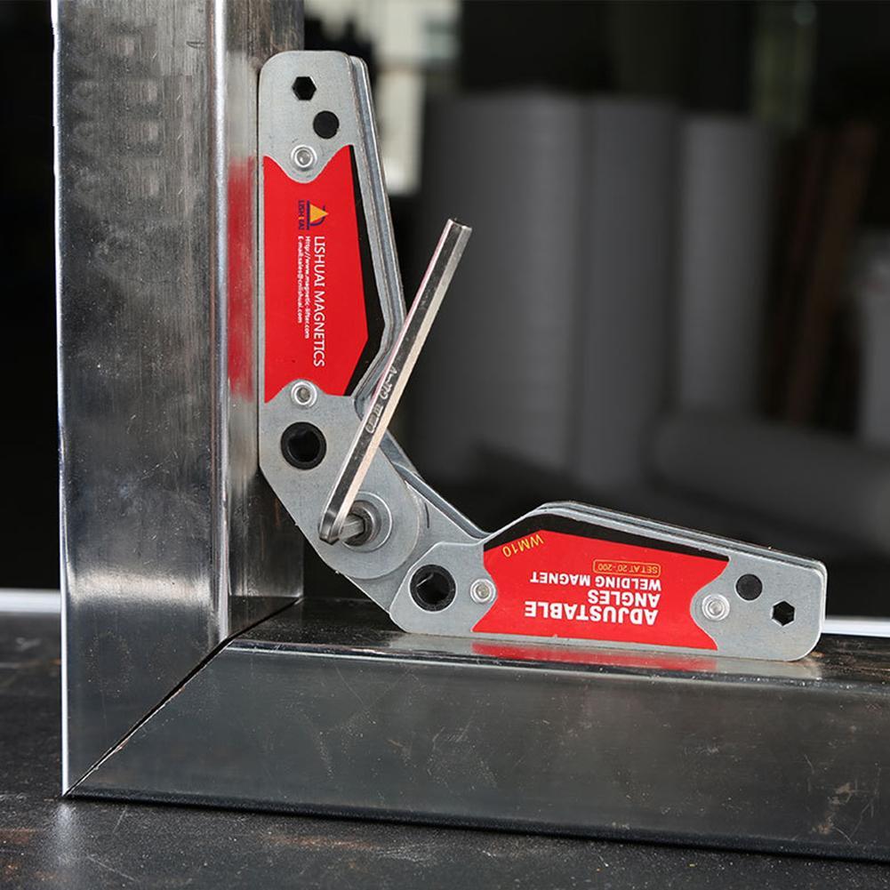 Magnet Welding Locator Magnetic Holder Weld Fixture Corner Clamp Adjustable
