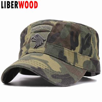 093b5e95001 Tactical US Hats 101ST AIRBORNE SCREAMING EAGLE Cap Air Force Baseball caps  for Men Cotton