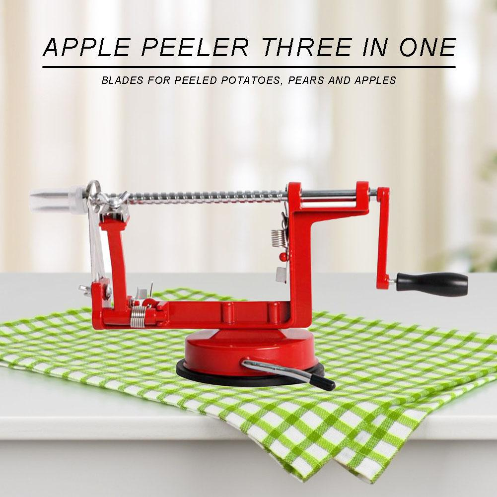 It peels slices and core removal Potato an Pear **** NEW Apple 3 in 1 Peeler