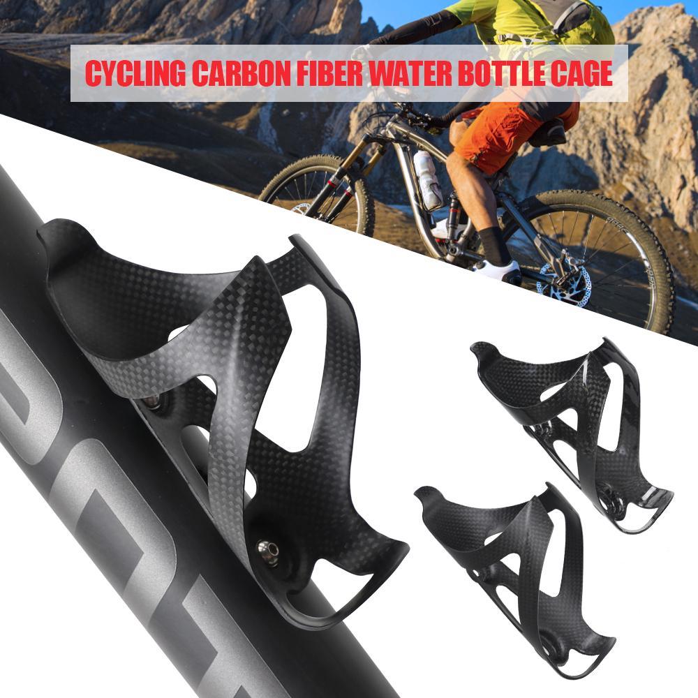 Full Carbon Fiber Bicycle Water Bottle Cage Road Bike Bottle Holder Ultra Light