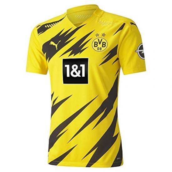 Puma Mens Football Jersey Borussia Dortmund Bvb 20/21 M Cyber Yellow-puma Black 931110