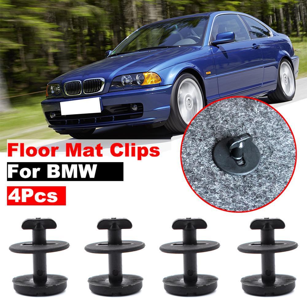 1pcs Black Floor Mat Holder with Lock for BMW E32 E34 E36 E38 E39 E46 Series