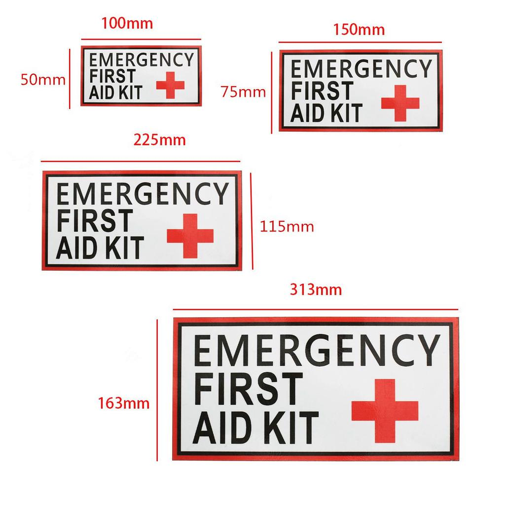1//2X Outdoor Survival erste Hilfe Rotes Kreuz Hook Loop Fastener Abzeichen Patch