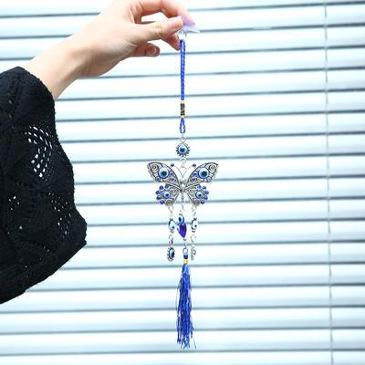 Lampwork verre turc evil eye Charm Pendentif Voiture Maison Amulette Turquie Ornement