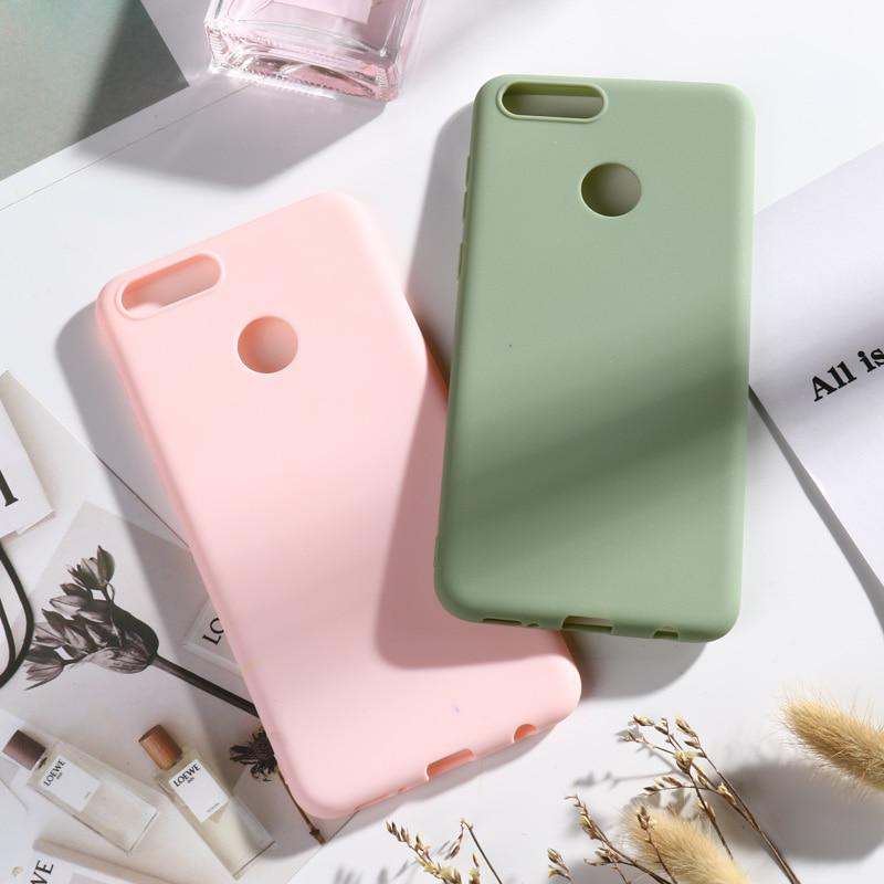 Case for Huawei Honor 7X Case Soft Silicone Candy Cover Coque for Huawei Honor 7X L21 L22 L24A