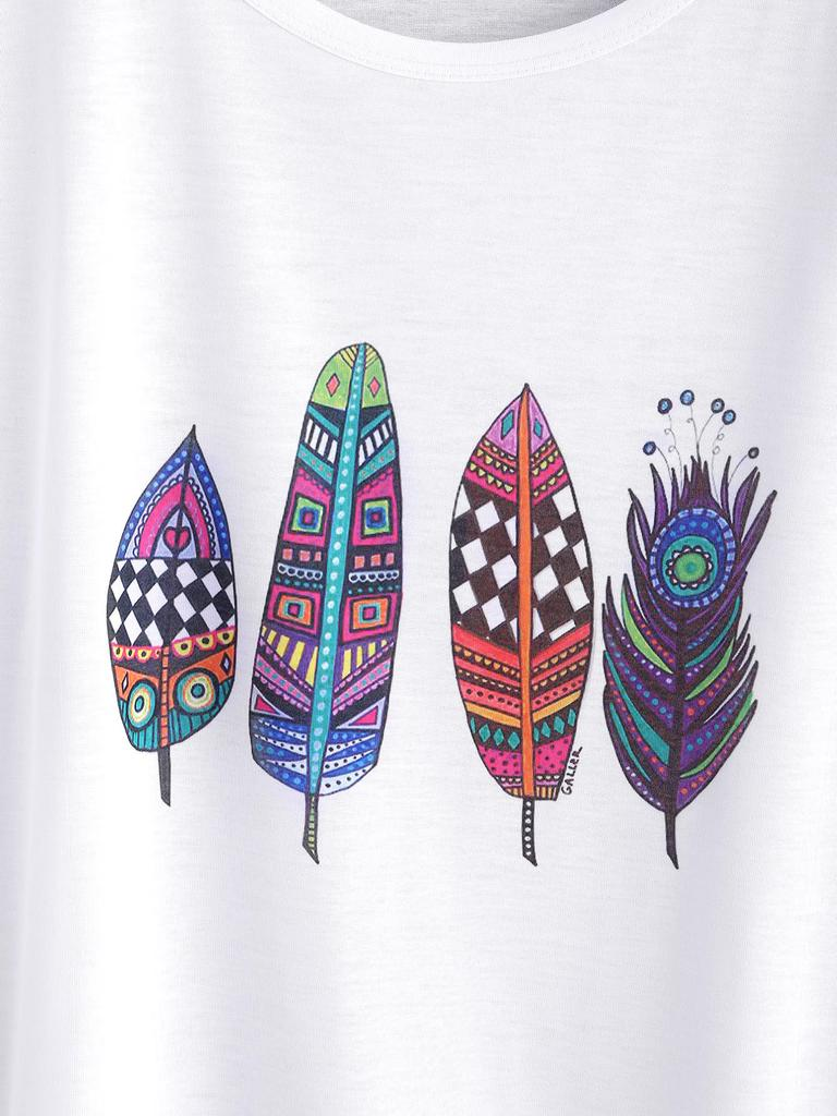 5cc7267f4 SheIn Graphic Print Dolman Sleeve T-shirt-buy at a low prices on ...