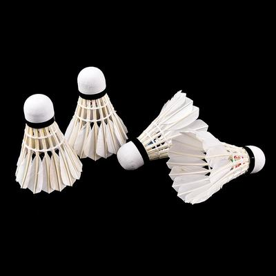 4Pcs Dunkle Nacht Bunte LED Leuchten Badminton Federball Birdies Beleuchtung