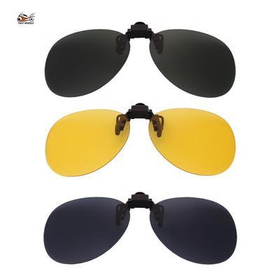 b1f536b9da0 Unisex Night Vision Glasses Glasses Clip Myopia Driver Mirror Sunglasses