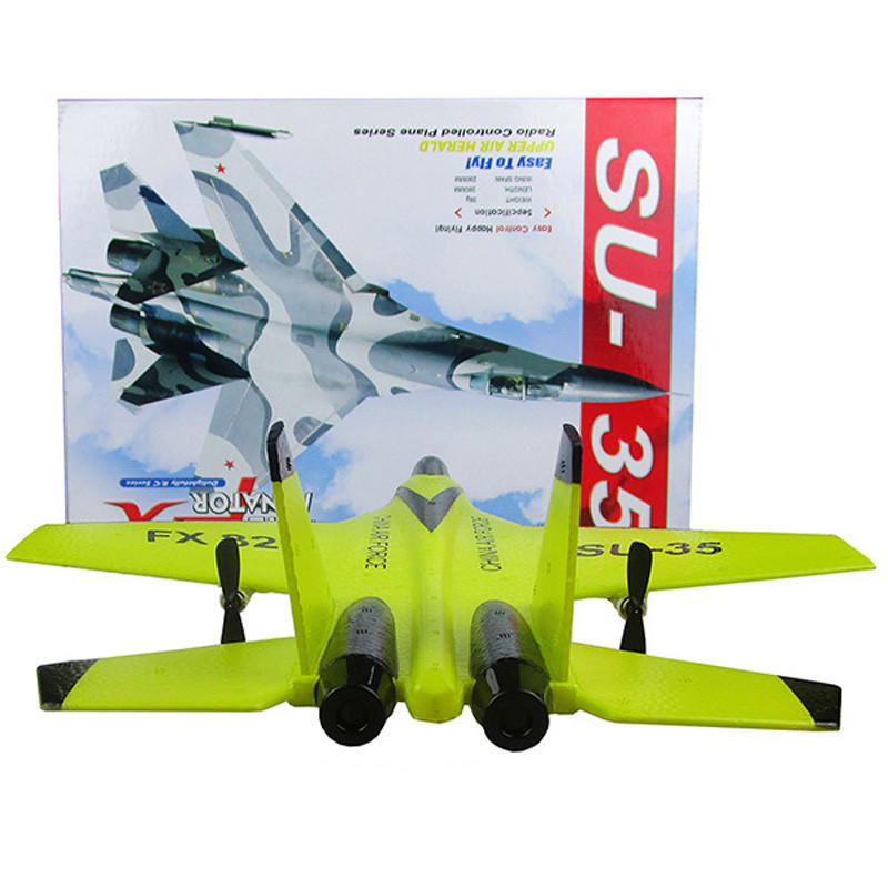 SU-35 Helicopter Plane Toy Glider Airplane EPP Foam 3.5CH Toys