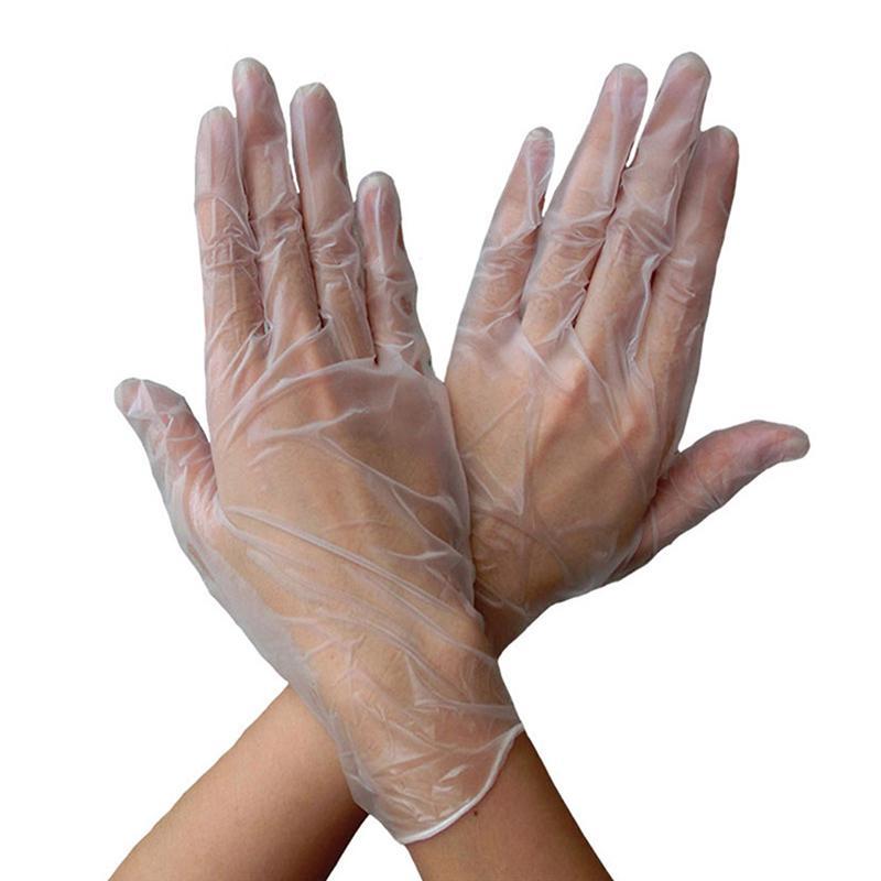 Перчатки одноразовые латексные татуировки перчатки сад для домашней очистки всеобщей продовольственной резиновые перчатки – купить по низким ценам в интернет-магазине Joom