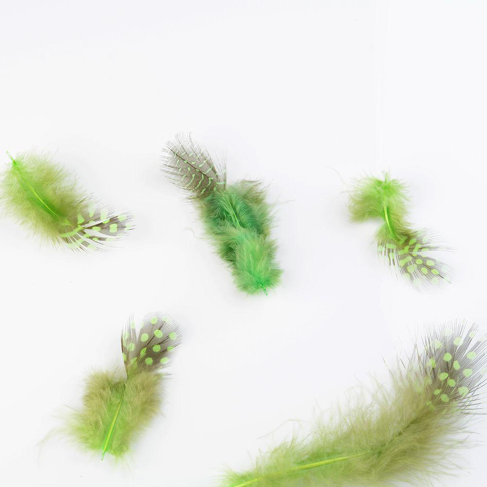 Beautiful 50pcs Nature Rooster Tail Feathers 5-8cm 1.8-3.1Inches Decoration Cool