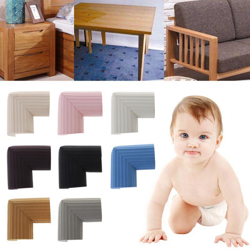 Am /_4Pcs U Form Sicherheit Baby Anti Kollision Schreibtisch Rand Ecke Schutz Cov