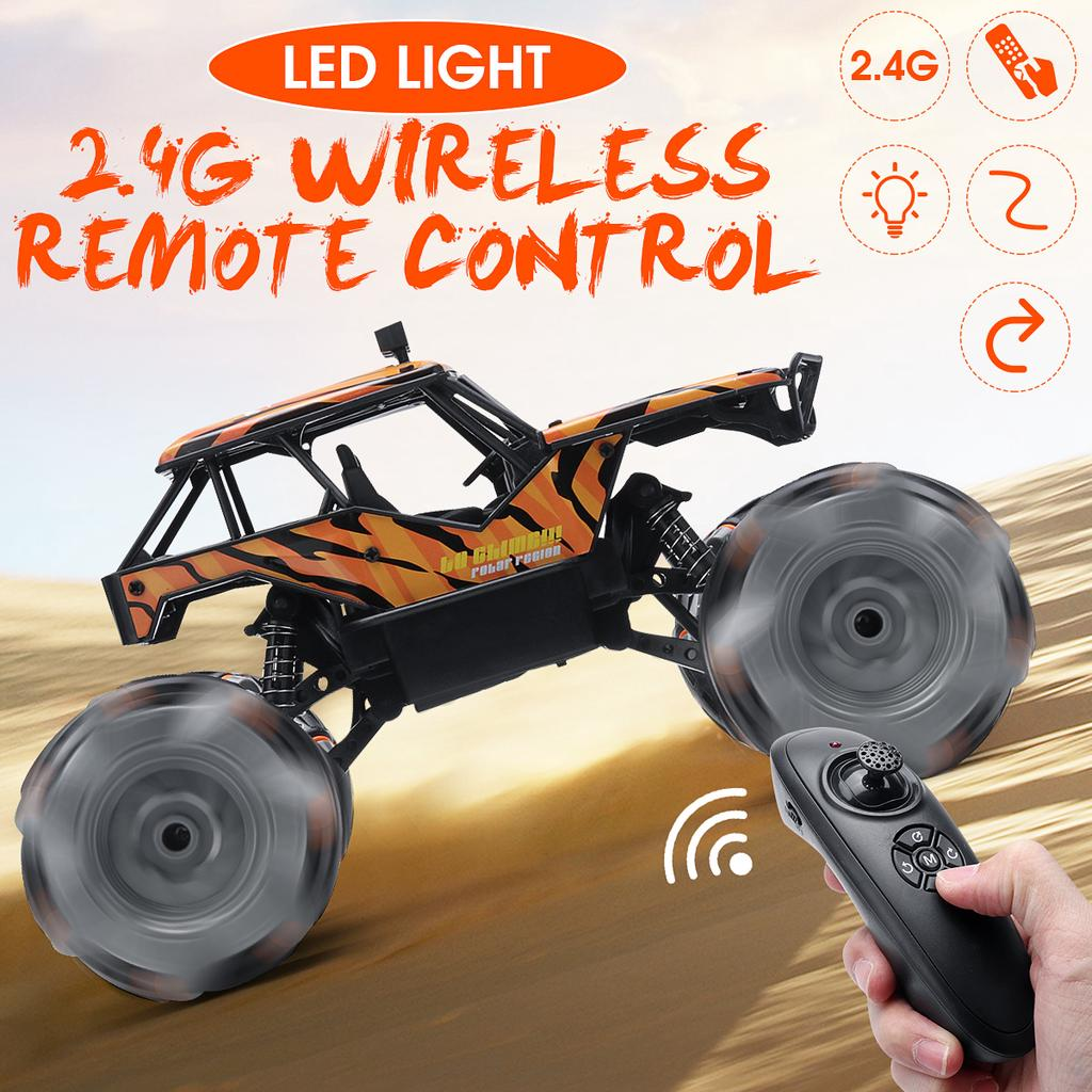 Buy RC Car 4 WD Dirt Bike 2.4G Radio Remote Control Cars Boys Toys Buggy  Off-Road Trucks for Children Model Vehicle Toy at affordable prices, price  41 USD — 📦free shipping, ⭐real