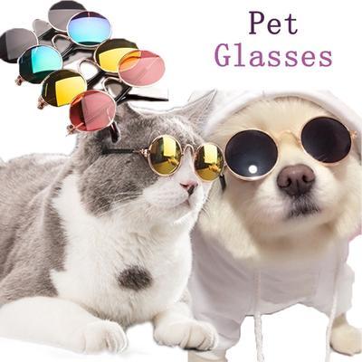228ca718d97f74 -67 %. Prix 2  US Prix 6  US. Lunettes de soleil mode estivale chat  accessoires chiens chats lunettes oeil au beurre noir accessoire de toilettage  pour ...