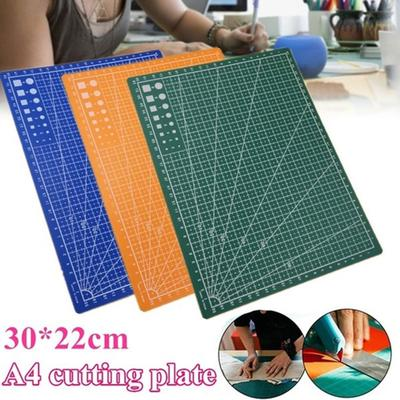 PDTO New A4 Double-sided Grid Lines Cutting Board Mat Self-healing Cutting Pad DIY