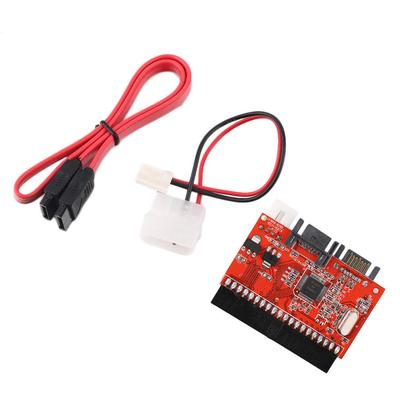 Computer Cables Pro 2 in 1 SATA to IDE Converter//IDE to SATA Conversion Adapter for DVD//CD//HDD Cable Length: Other