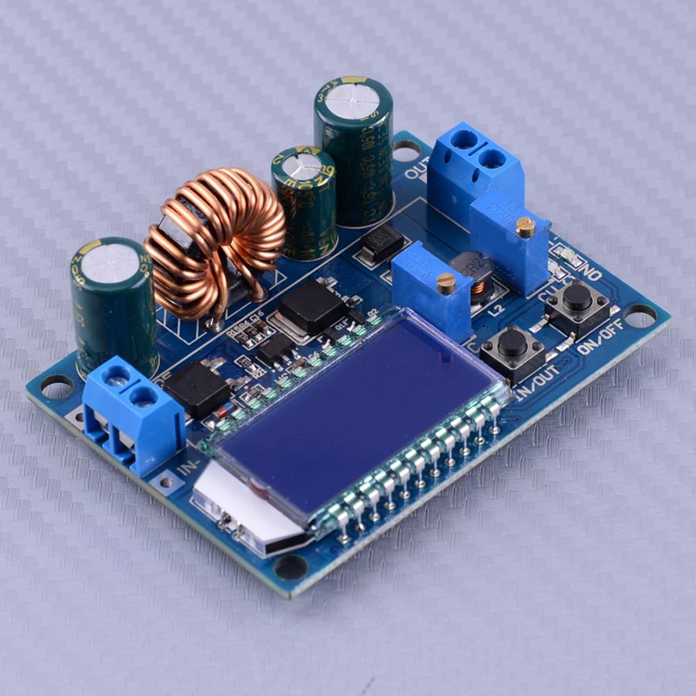 DC 5.5-30V to 0.5-30V 35W LCD Step up down Power Supply Module CC CV Buck Boost