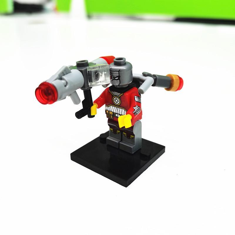Mini Figuras Star Wars-tijolos a granel minifigura Cavaleiro Ninja Lego Compatível