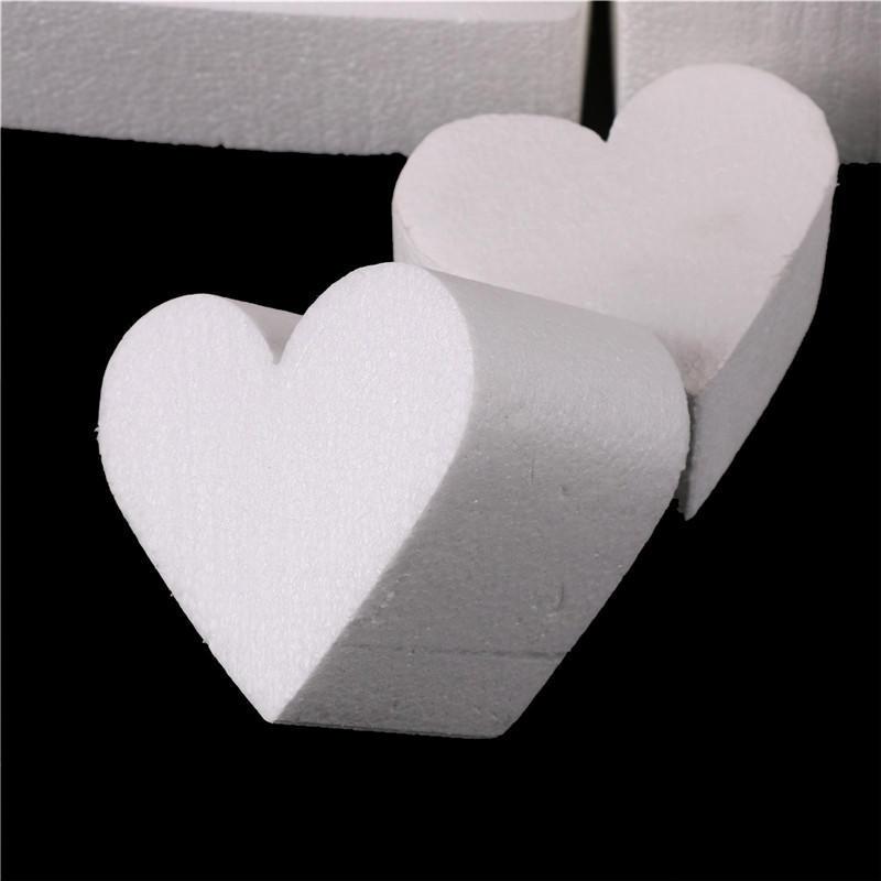 Heart Styrofoam Foam Cake Dummy Modelling Sugar craft Flower Decorating A JB