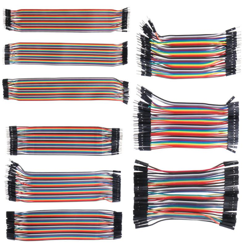 Dupont Jumper Wire Ribbon GPIO Cable Pi Breadboard F-F// M-M// M-F For Arduino