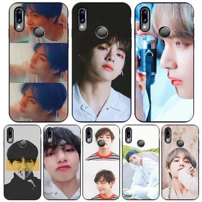 Bts Kpop Bts V Kim Tae Hyung Phone Case For Iphone Samsung Soft