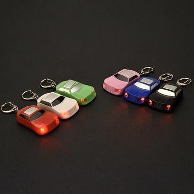 Car Shape LED Key Finder Locator Keychain Find Lost Keys