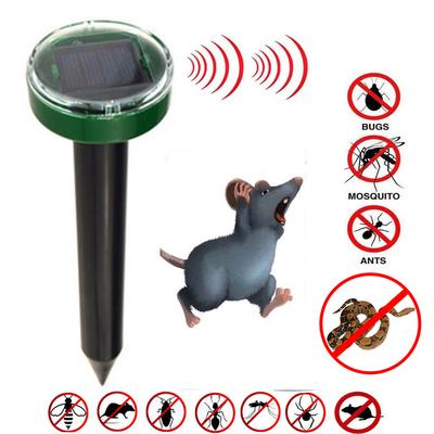 Outdoor Garden Mole Repellent Ultrasonic Rice Field Mouse Repellent Snake Mouse Deworm Control 1 PC