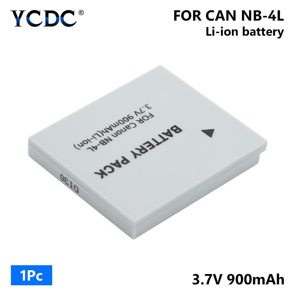80 120 IS Batería NB-4L NB4L 710mAh para Canon Digital IXUS 50