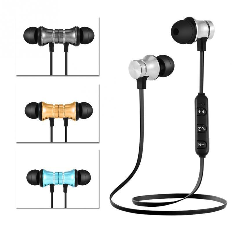 Спорт Bluetooth Стерео гарнитура Наушники XT-11 V4.2 Магнитный водонепроницаемый наушник с микрофоном фото