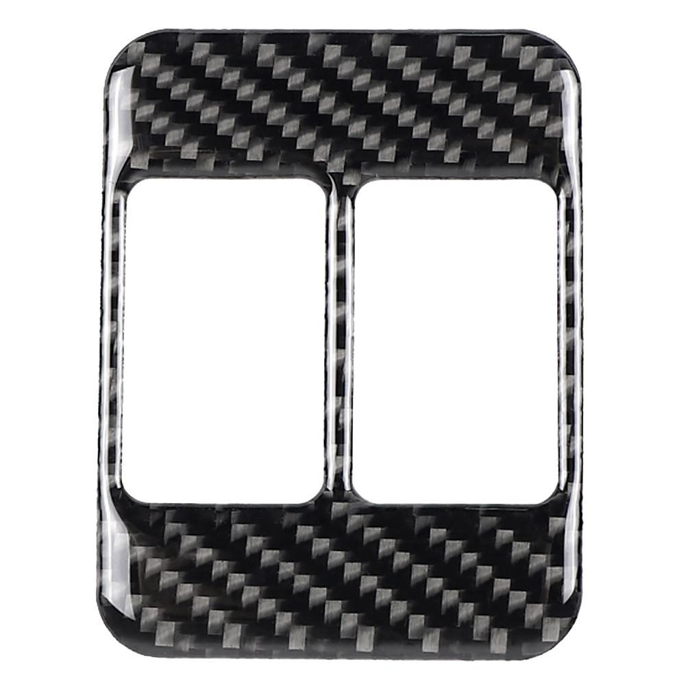 Real Carbon Fiber Rear Trunk Switch Button Cover For Toyota 86 Subaru BRZ 13-17