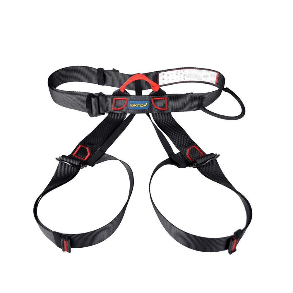 Full Body Harness Safety Belt for Rock Climbing Mountaineering Caving Rappel NS