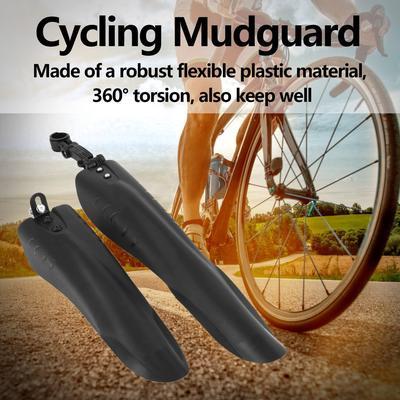 BESPORTBLE 1pc Bike Fender Mountain Bike Splash Guard Durable Mud Guard Riding Equipment Cycling Bicycle Accessory