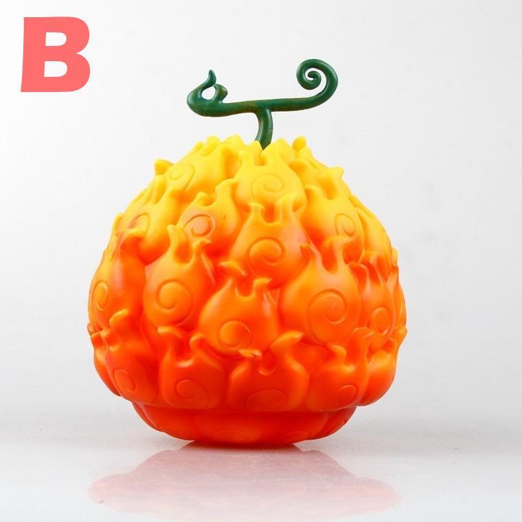 Pieza fruta del diablo Ace llama-Llama y Luffy GUM GUM 17CM FIGURA ONE PIECE